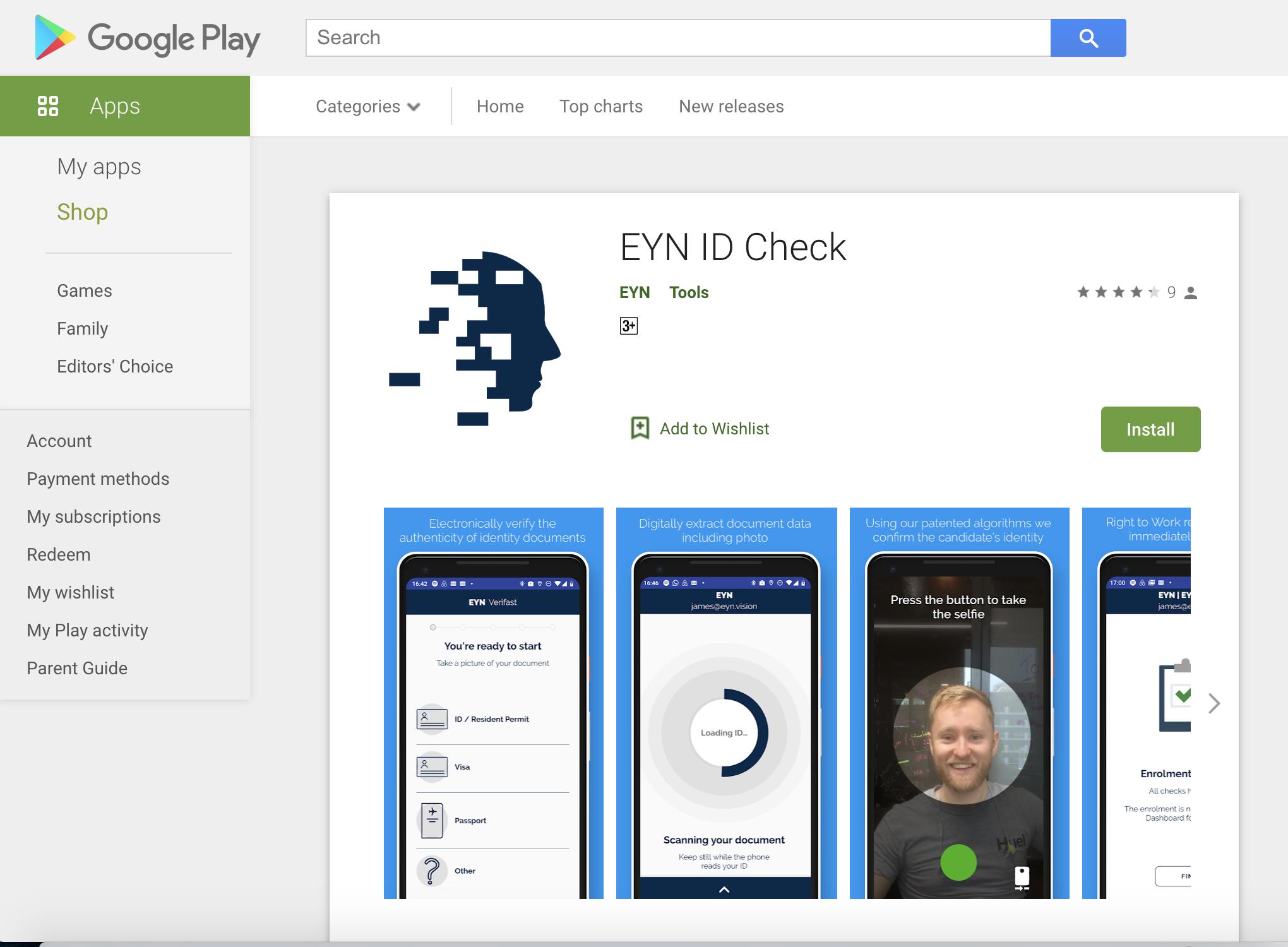 Download app screenshot