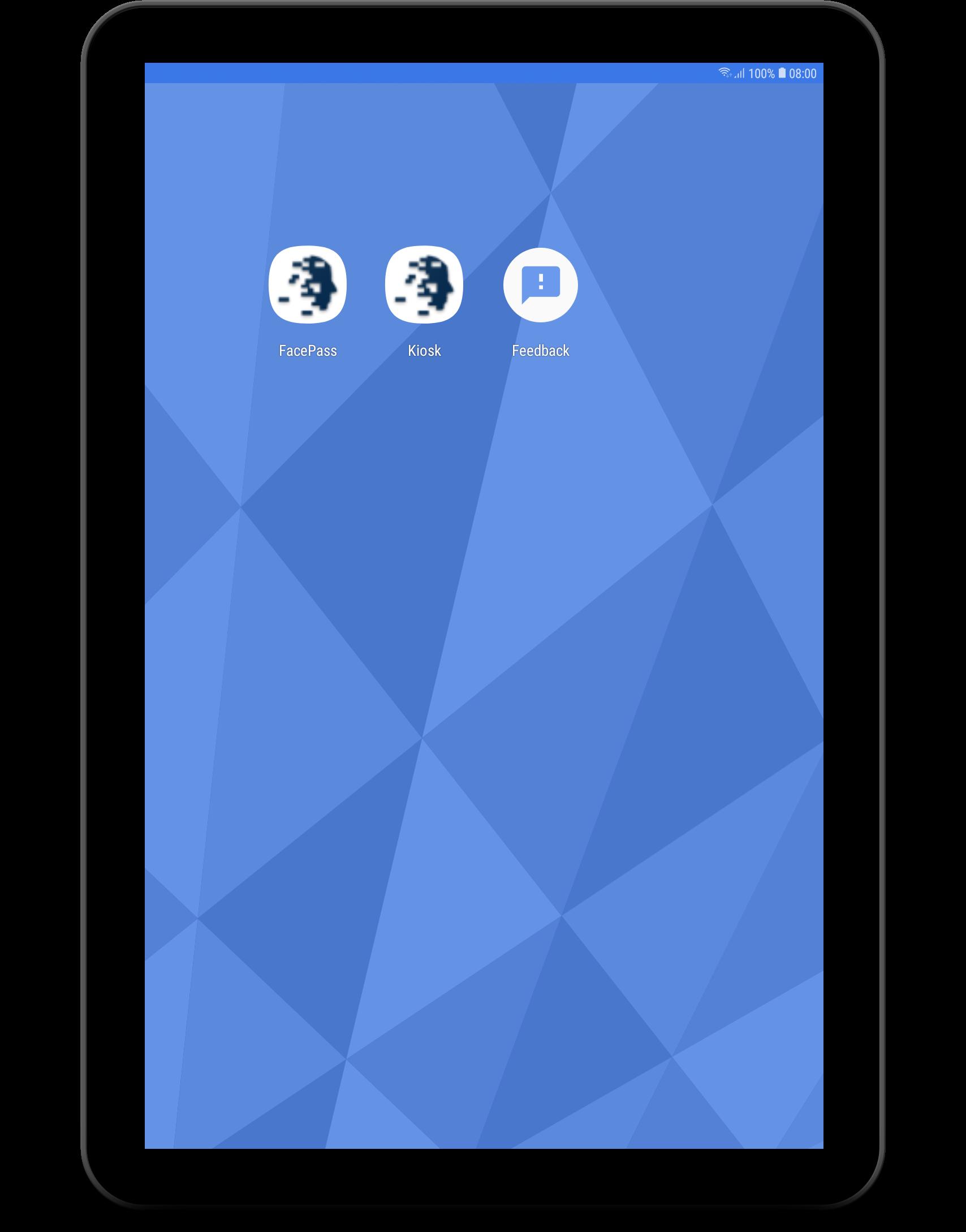 EYN Kiosk App Selection